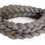 Protetor trança em tricot