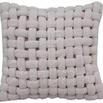 Almofada decorativa handmade em tricot