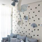 Acessórios decorativos para quarto de menino