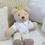 Urso príncipe para cama infantil